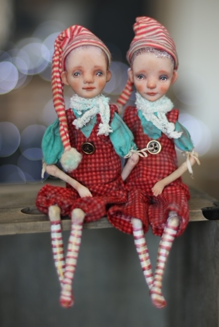 "The ""littles"" by Helena Oplakanska at the Dollery"